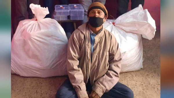 सूरत में मकान से मिला साढ़े 73 किलो गांजा, नशेड़ियों को किलो-दो किलो के हिसाब से बेचता था
