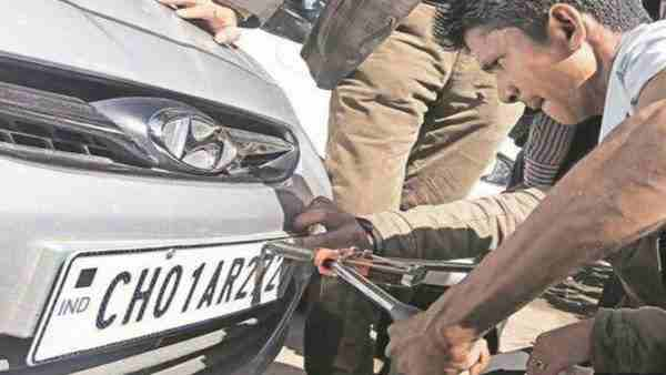 It is mandatory to install high security number plate in bike, car in UP