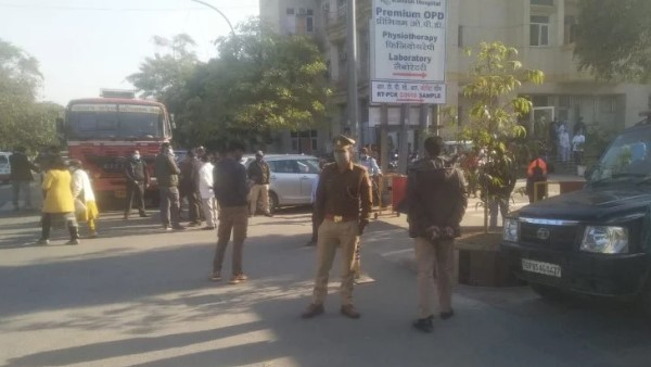 Bomb threat at Noida Kailash Hospital