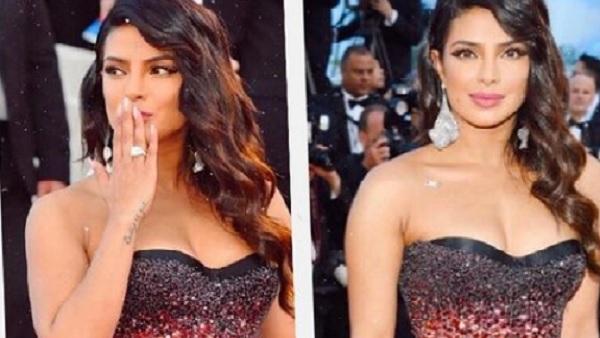 यह पढ़ें:Cannes वॉक से ठीक पहले टूटी प्रियंका चोपड़ा के गाउन की चेन और फिर...