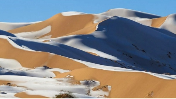 यह पढ़ें: बर्फ की सफेद चादर से ढंका दुनिया का सबसे बड़ा रेगिस्तान, Yellow Snow को देख लोग हैरान