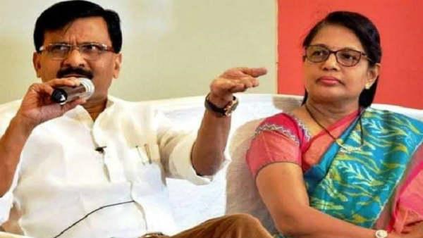 PMC बैंक घोटाला: पूछताछ के लिए ED दफ्तर पहुंची संजय राउत की पत्नी वर्षा