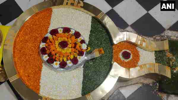 Republic Day 2021: Chandreshwar Mahadev temple, Shivling is decorated in the color of the tricolor