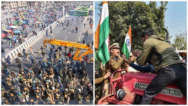 ये भी पढ़ें- दिल्ली में किसानों का बवाल, DTC बस में तोड़-फोड़, देखें ट्रैक्टर रैली की परेशान करने वाली तस्वीरें