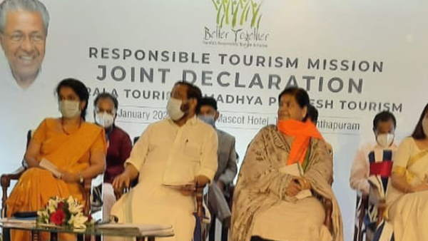 madhya pradesh and Kerala exchange MoU on Responsible Tourism mission