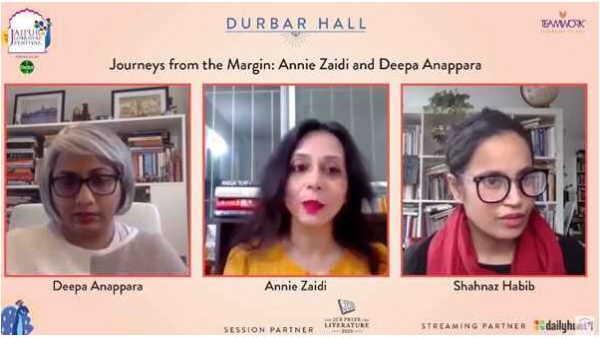 Jaipur Literature Fest: एनी जैदी और दीपा अनपरा ने उपन्यास को लेकर बताई दिलचस्प बातें