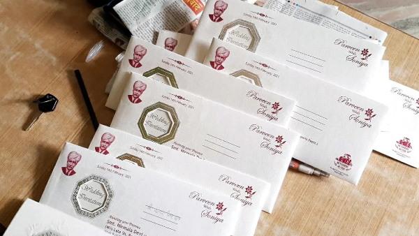 'किसान नहीं तो भोजन नहीं', हरियाणा में शादी के कार्डों पर किसान आंदोलन का समर्थन