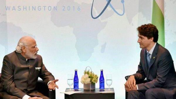 कनाडा के पीएम ट्रूडो ने प्रधानमंत्री नरेंद्र मोदी से की बात, कोरोना वैक्सीन को लेकर हुई चर्चा