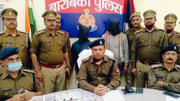 Barabanki police reveals robbery of Rs 6 lakh from jeweller, two Criminal arrested