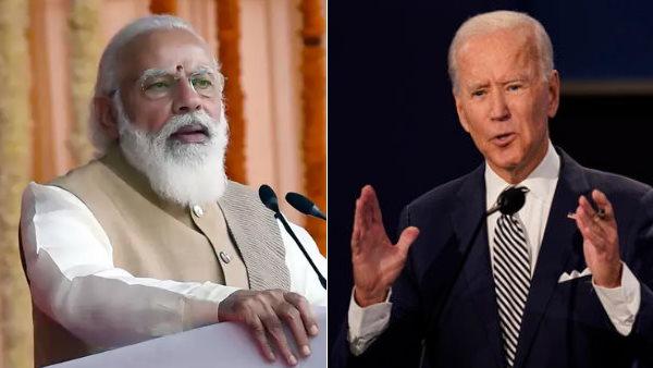 पीएम नरेंद्र मोदी ने अमेरिकी राष्ट्रपति जो बाइडन से की बातचीत, कई मुद्दों पर हुई चर्चा
