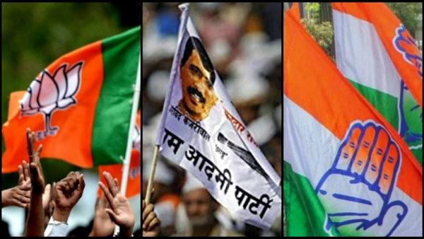 सूरत नगर निगम के चुनाव परिणाम: भाजपा की 40 सीटों पर बढ़त, AAP ने चौंकाया, कांग्रेस तीसरे नंबर पर