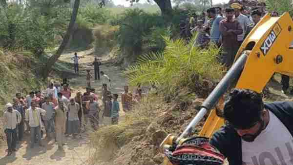 Chitrakoot News: Three people died due to falling mud mound