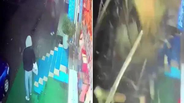अगर 2 सेकेंड लेट हो जाता तो चली जाती जान, सामने आई भयानक CCTV फुटेज