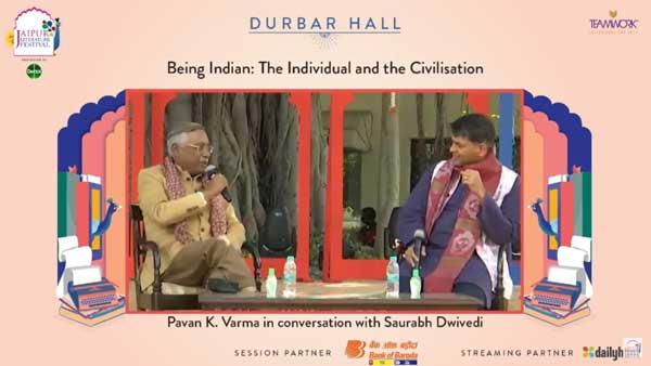 जयपुर लिटरेचर फेस्टिवल: लेखक और राजनेता पवन वर्मा ने बताया इस समय क्या है देश में साहित्य का मिजाज