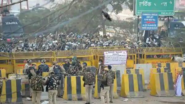 किसानों के चक्का जाम से पहले पुलिस की पुख्ता तैयारी, प्रदर्शनकारियों का दिल्ली पहुंचना नहीं होगा आसान