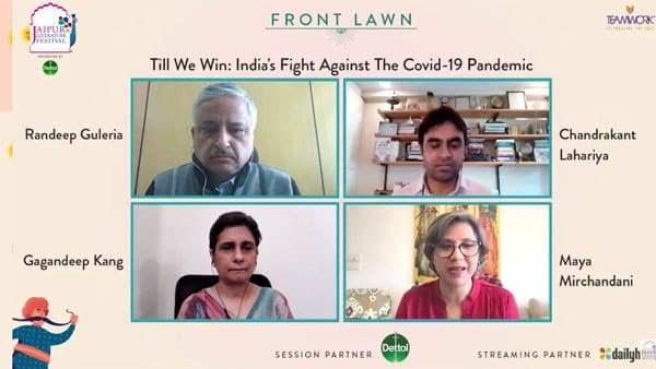 Jaipur Literature Festival 2021: कोरोना के खिलाफ भारत की लड़ाई की कहानी बताती रणदीप गुलेरिया की किताब