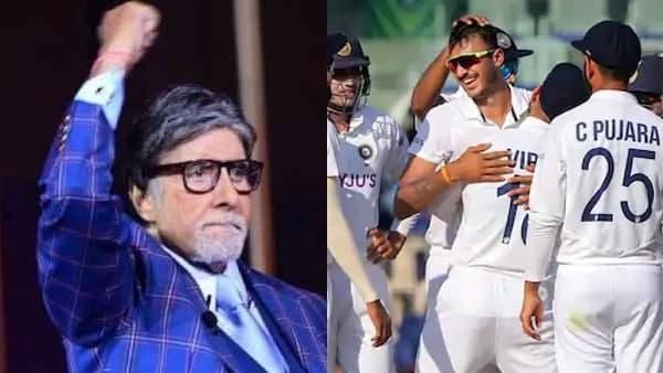 <strong>IND vs ENG: भारत की जीत पर इतराए अमिताभ बच्चन, बोले-'इंग्लैंड को धोबी पछाड़'</strong>