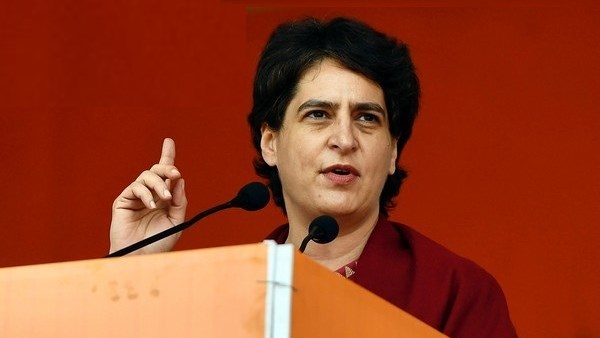 priyanka gandhi said When youth talk about jobs government sends them to jail