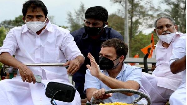 राहुल गांधी ने वायनाड में ट्रैक्टर रैली में लिया हिस्सा, कृषि कानून को लेकर कसा मोदी सरकार पर कसा तंज