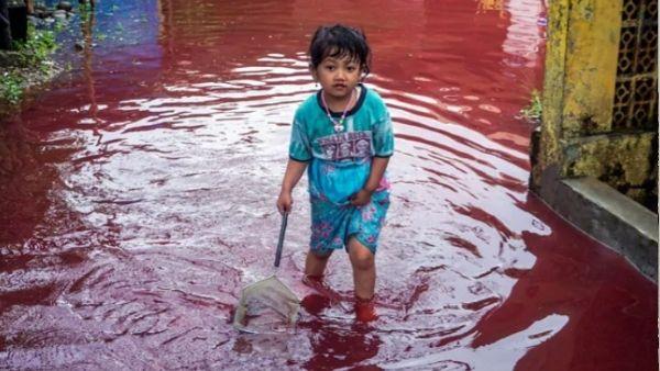 इंडोनेशिया में 'खूनी बारिश' से पसरा खौफ, डरे लोग पूछ रहे क्या ये दुनिया के अंत की है शुरूआत?