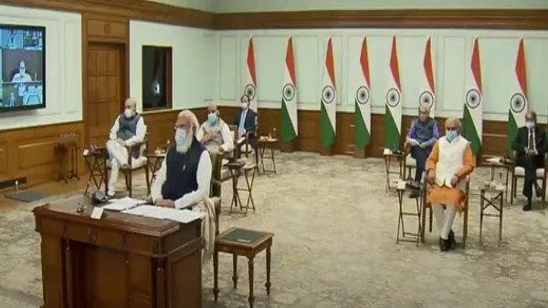 हरियाणा के मुख्यमंत्री खट्टर ने लिया नीति आयोग की छठी गवर्निंग काउंसिल की बैठक में हिस्सा