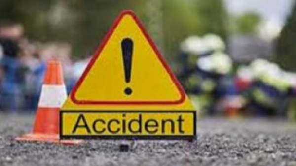 giridih road accident four famaily members died