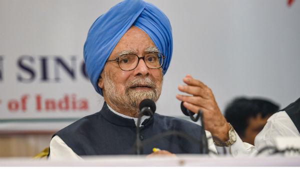 मोदी सरकार पर बरसे पूर्व PM मनमोहन सिंह, कहा-'नोटबंदी जैसे गलत फैसले के चलते देश में बढ़ी बेरोजगारी'
