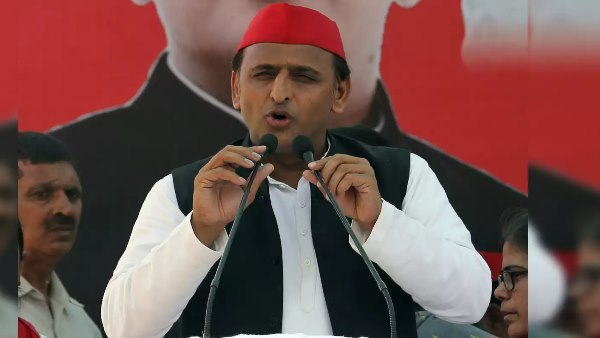 akhilesh yadav addressed kisan mahapanchayat in aligarh