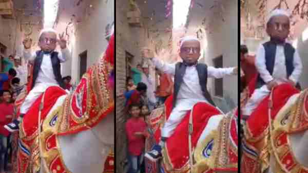 ये भी पढ़ें:- तीन फीट के अजीम का घोड़ी पर डांस करते हुए वीडियो वायरल, कहा- मेरे पास नहीं आया सलमान खान का फोन