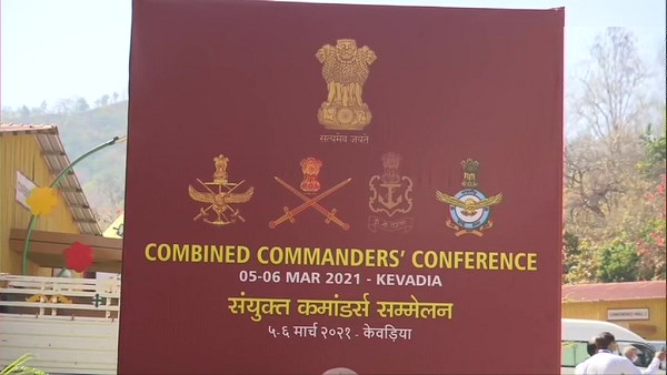 Combined Commanders' Conference at Kevadia: Rajnath Singh, CDS Bipin Rawat attends it