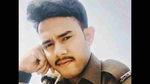 UP police constable Ashish Kumar extreme step in gonda