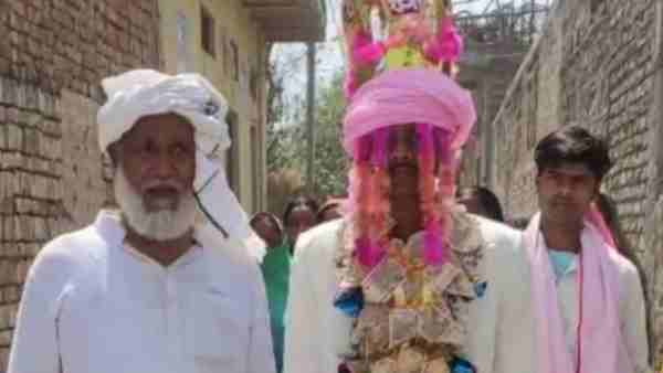 Ghazipur News: Muslim father did marriage of adopted son by Hindu customs