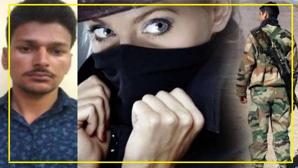 आर्मी जवान आकाश महरिया सीकर से गिरफ्तार, पाकिस्तानी महिला न्यूड होकर करती थी वीडियो कॉल