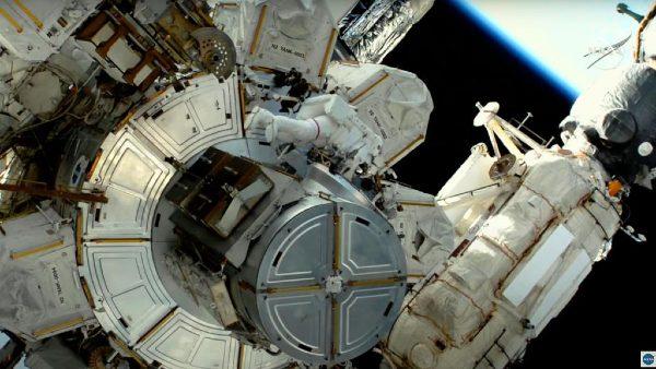 इंटरनेशनल स्पेस स्टेशन की मरम्मत के दौरान लीक हुआ अमोनिया, नासा ने शेयर किया वीडियो