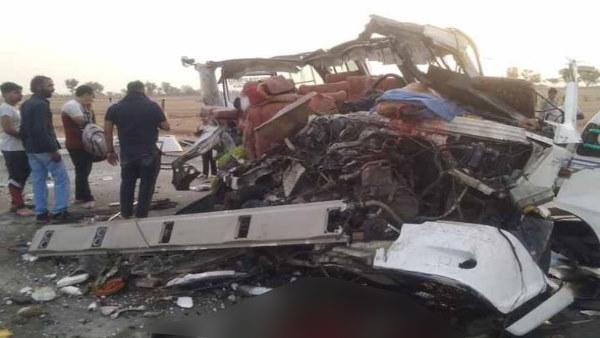 Rajasthan Accident : दिल्ली के पर्यटकों से भरी बस-ट्रोले में टक्कर, 5 लोगों की मौत, 6 बच्चों समेत 12 घायल