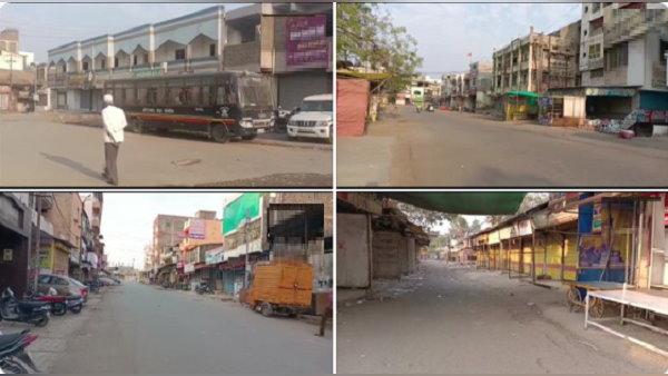 महाराष्ट्र: काबू नहीं हो पा रहा कोरोना, औरंगाबाद में फुल-लॉकडाउन लगाया गया