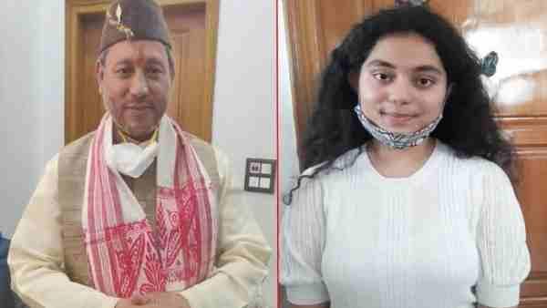 सीएम तीरथ सिंह रावत की बेटी लोकांक्षा ने पापा को बताया हीरो, युवाओं के लिए करवाना चाहती है ये काम