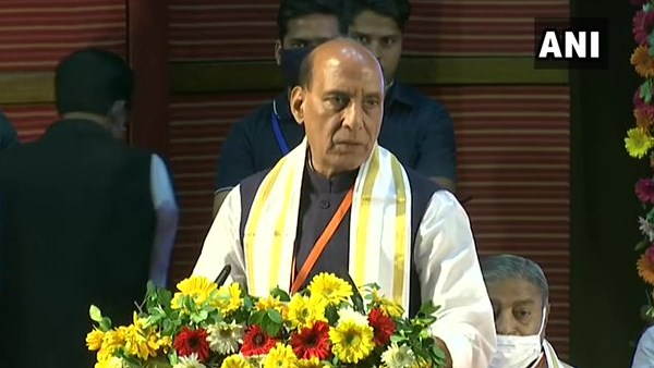 Rajnath Singh says All parties were divided but it is only BJP which was not divided ever