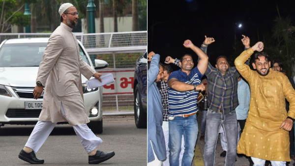 AIMIM ने भाजपा से छीनी गोधरा नगरपालिका, बीजेपी चार पार्षद ना जुटा सकी, ओवैसी ने 17 जुटा लिए