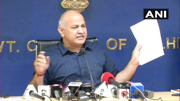 यह पढ़ें: मनीष सिसोदिया का बड़ा हमला, कहा- LG के जरिए दिल्ली में सरकार चलाना चाहती है भाजपा
