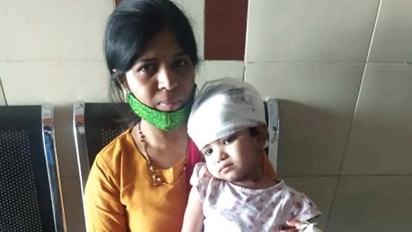 रेल से गिरी 3 साल की बच्ची, जिंदा बच गई