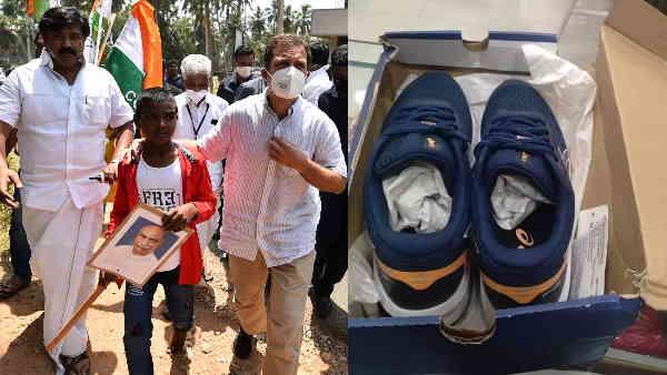 तमिलनाडु: 5वीं के लड़के ने नंगे पैर रेस में हराने की दी थी चुनौती, राहुल गांधी ने भिजवा दिए जूते