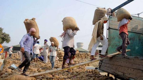 सरकार ने कहा- किसान की फसल का 48 घंटे में मंडी से उठान न होने पर लगेगा जुर्माना
