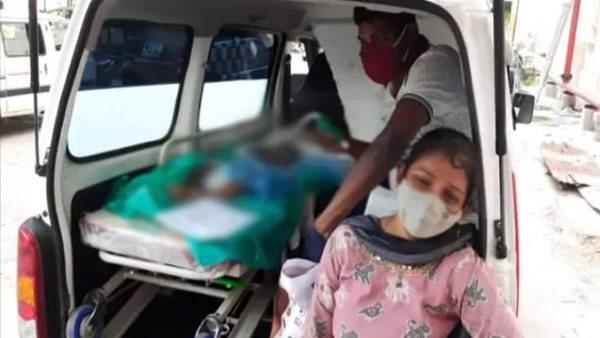 'प्लीज उसे बचा लीजिए': कोरोना पॉजिटिव मासूम की मां लगाती रही गुहार, अस्पताल के बाहर तोड़ा दम