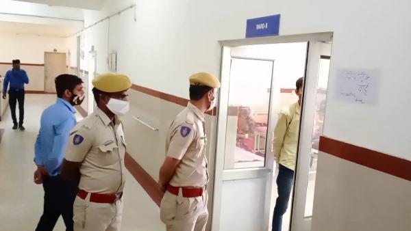 जोधपुर के एमडीएम अस्पताल की चौथी मंजिल से नीचे गिरा 24 वर्षीय मरीज, हादसा या सुसाइड में उलझी पहेली