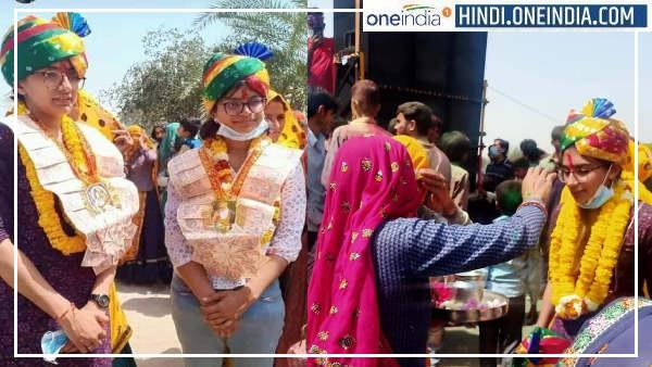 अनामिका मीणा व अंजलि मीणा : 2 सगी बहनें IAS बनने के बाद पहली बार घर पहुंचीं तो DJ पर नाचा पूरा गांव