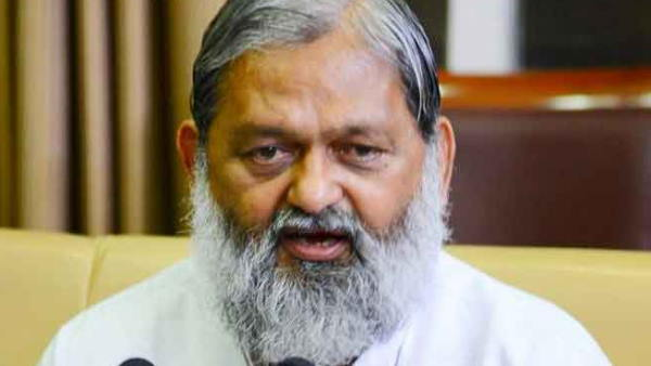 Haryana Home Minister Anil Vij directed to give NCB staff