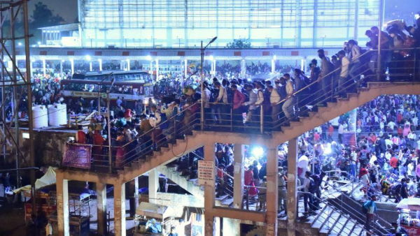 ये भी पढ़ें- Delhi Lockdown: मजदूरों का पलायन शुरू, आनंद विहार, सराय काले खां बस अड्डे पर उमड़ी हजारों की भीड़