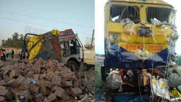 shahjahanpur news: Chandigarh-Lucknow Express collided with several vehicles