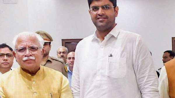 Latest News on haryana cabinet expansion: CM manohar lal khattar BJP and dushyant chautala party JJP discution